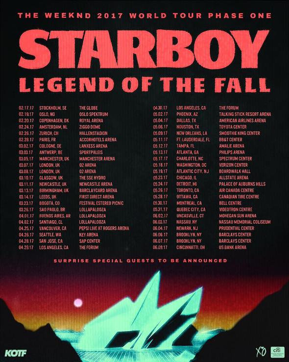 The Weeknd Toronto