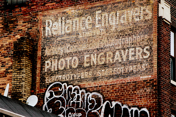 ghost signs toronto