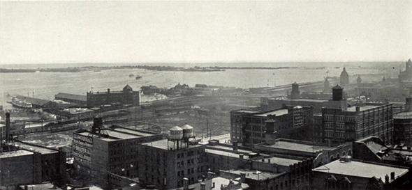 1910 panorama Toronto