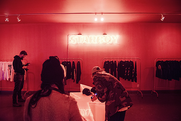 Starboy Pop Up Shop Toronto Weeknd