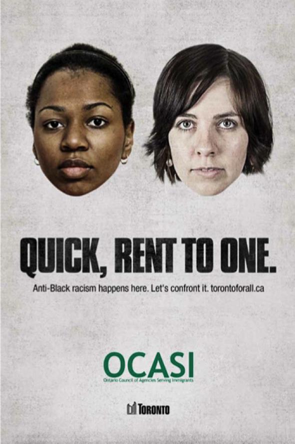 anti racism ad campaign toronto