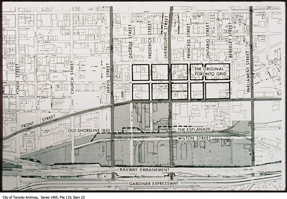 original toronto street grid
